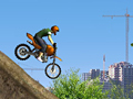 Construction Yard Bike play online