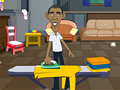 Obama at Home play online