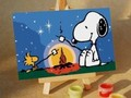 Coloring Snoopy play online