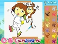 Games Coloring Dora the Explorer play online